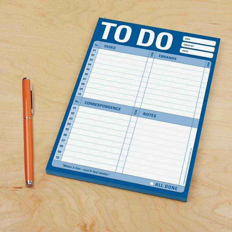 To do list for a holiday dinner party schedule