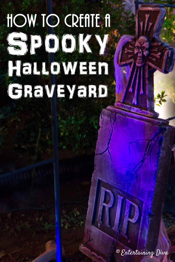 How to create a spooky Halloween graveyard