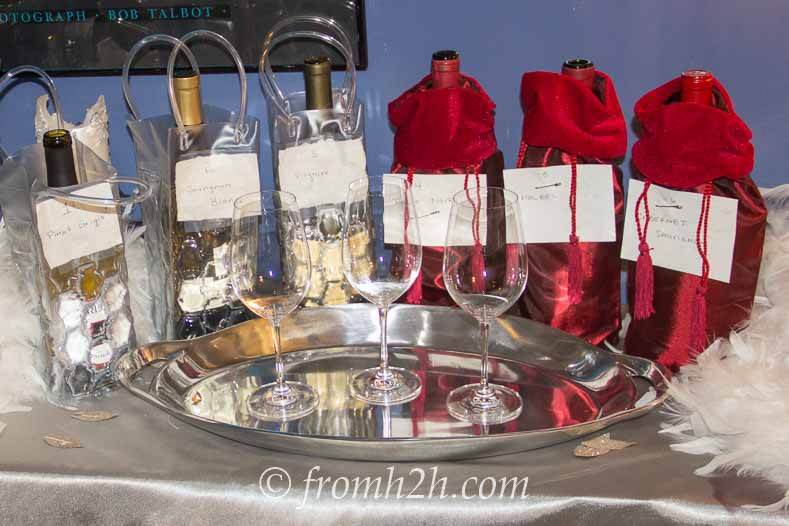 "A ""blind"" wine tasting is a fun and interactive event 