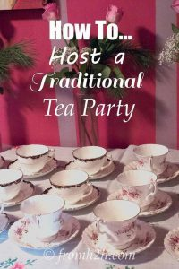 Traditional Tea Party Ideas