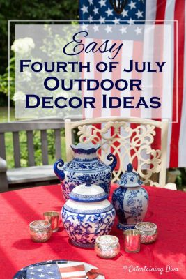 Easy 4th of July Outdoor Decorating Ideas