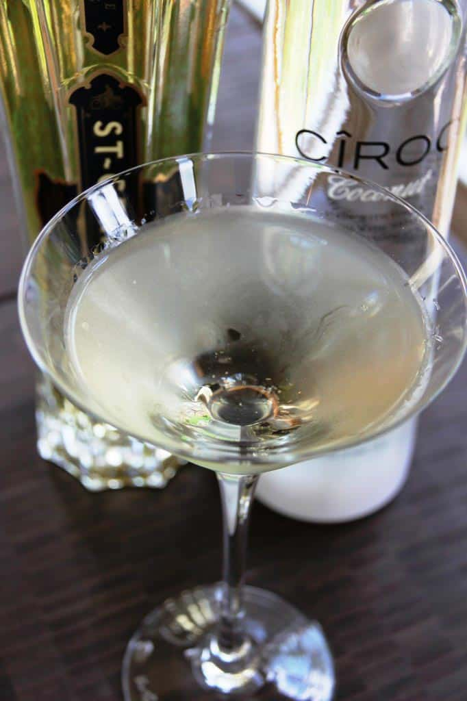 Coco Chanel Martini (from sumptuousliving.net) | 15 Fabulous Oscar Party Ideas