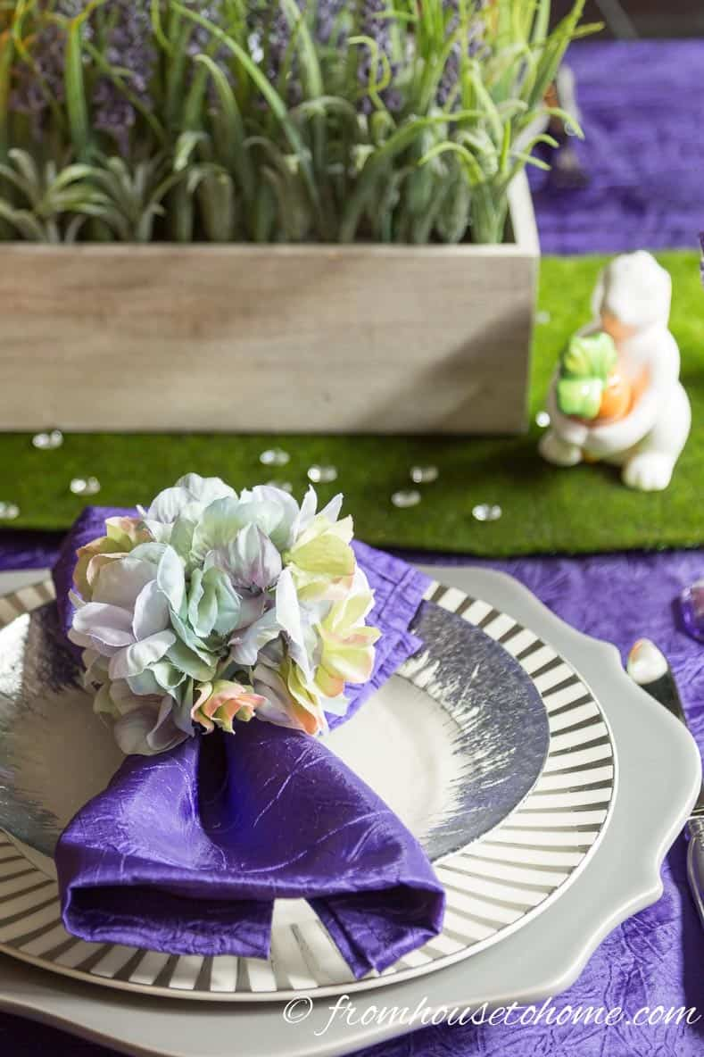 Easter table setting | How To Create An Easter Tablescape (Inspired by Spring)