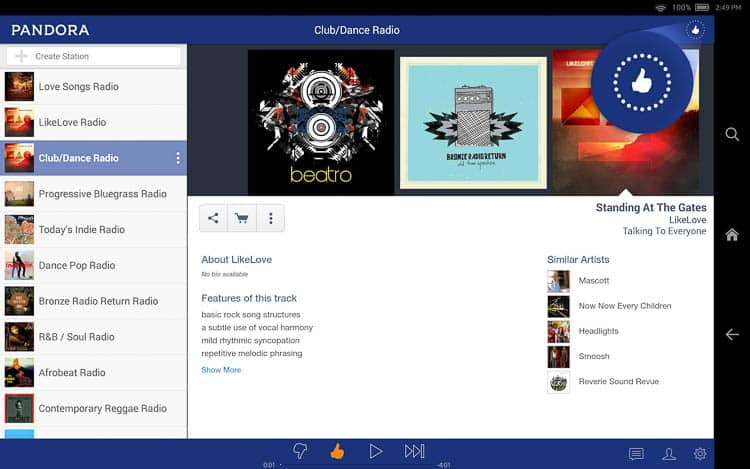Pandora is a great app for providing music for a party | How To Host a Wine Tasting Party