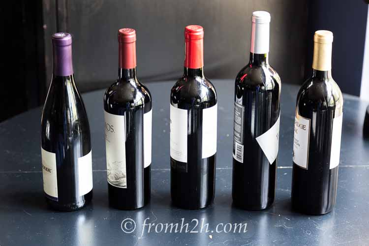 What wines to taste? | How To Host a Wine Tasting Party