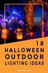 18 Halloween Outdoor Lighting Ideas