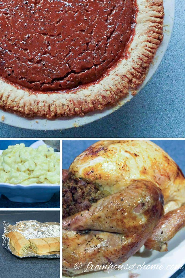 Holiday dinner party menu options