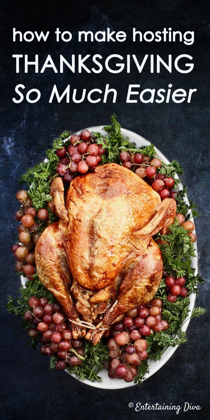 Thanksgiving tips for hosting the easiest Thanksgiving dinner ever