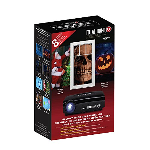 Digital Projector for Halloween decorating
