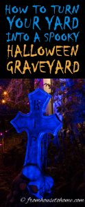 How to turn your yard into a spooky Halloween graveyard