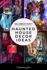Halloween Party haunted house decor ideas