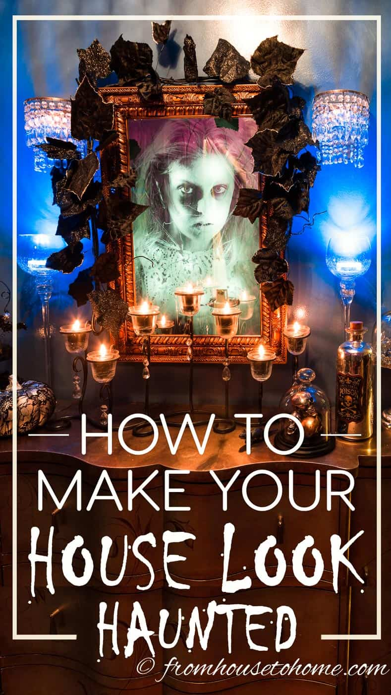 How To Make Your House Look Haunted For Halloween ...