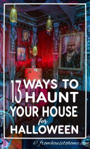 Halloween decorating ideas for indoors