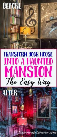 Transform your house into a haunted mansion with scene setters