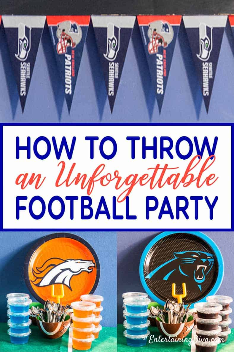 How To Throw an Unforgettable Football Party