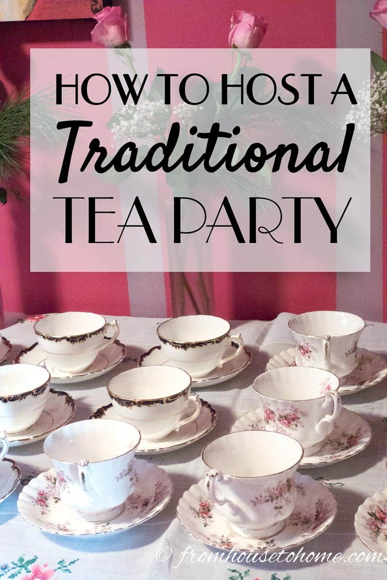 How To Host A Traditional Tea Party