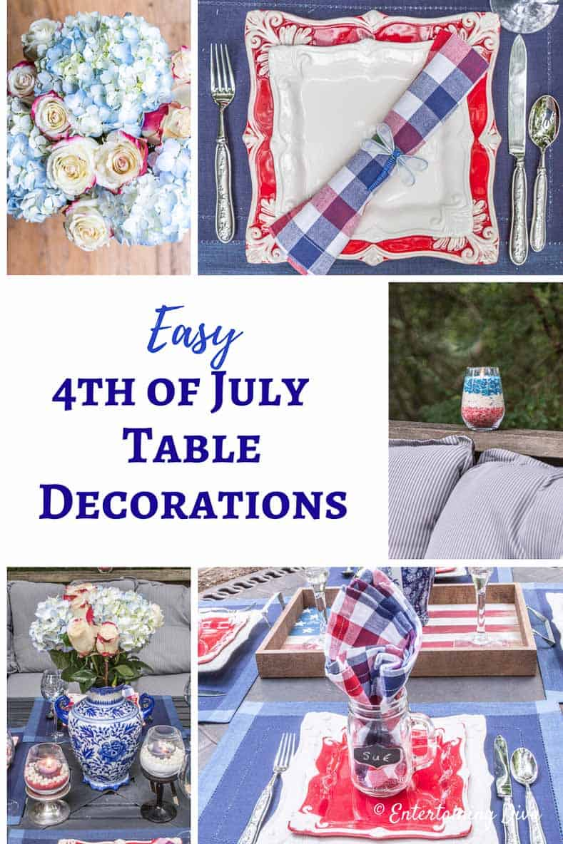 4th of july table decorations