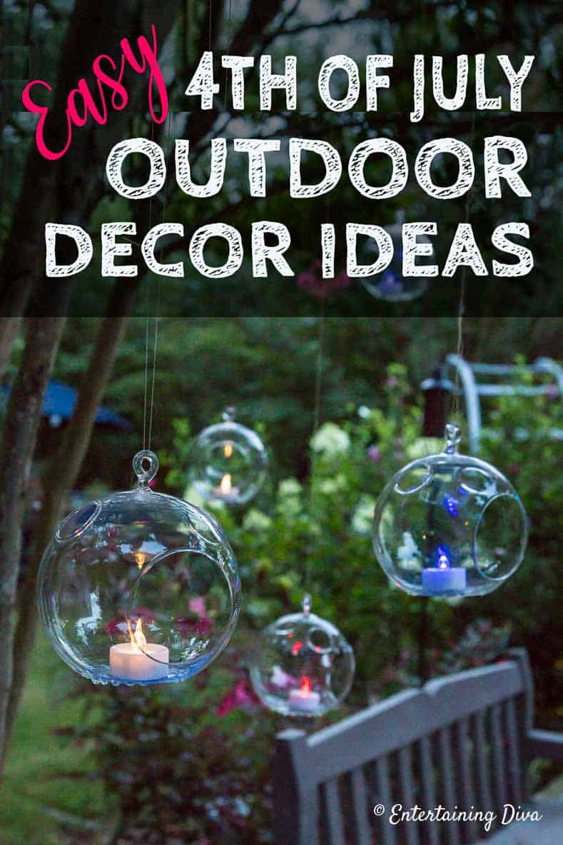 4th of july outdoor decor ideas