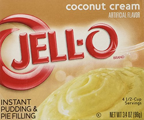 Instant Coconut Cream jello pudding