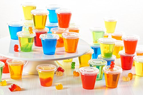 Tall jello shot cups