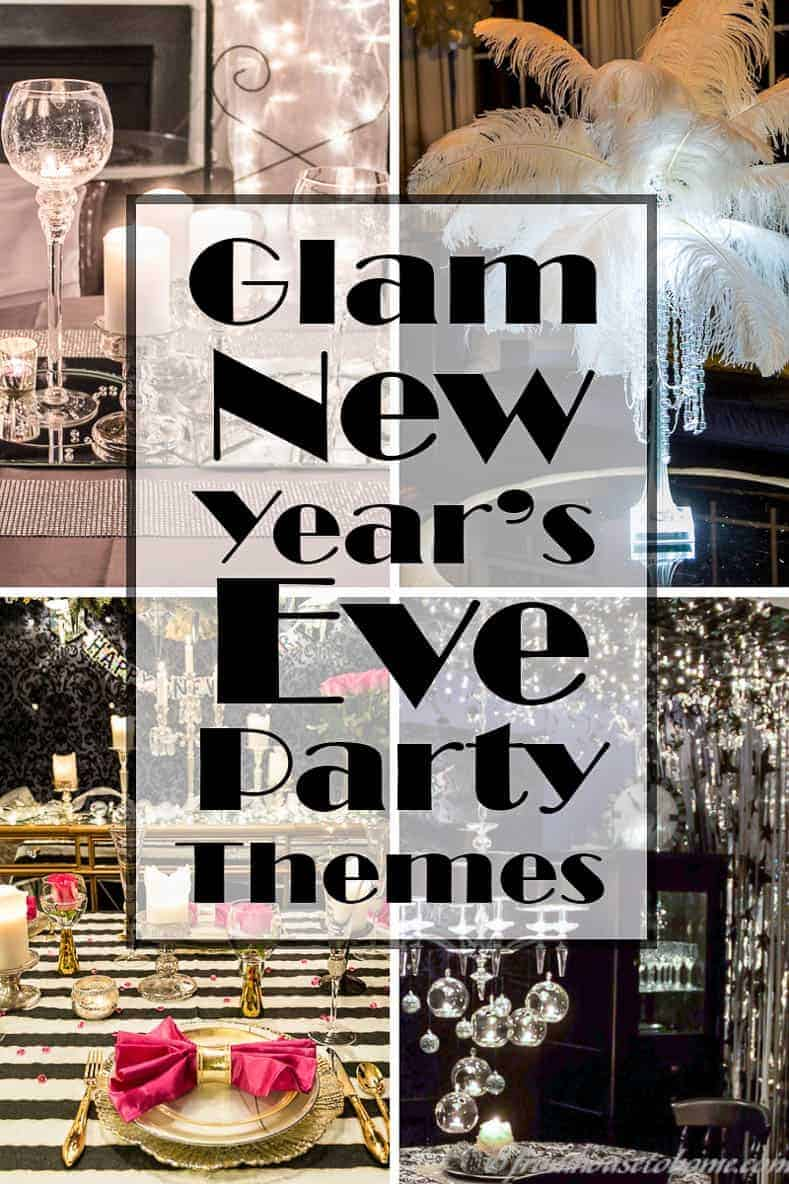 glam new years eve party themes