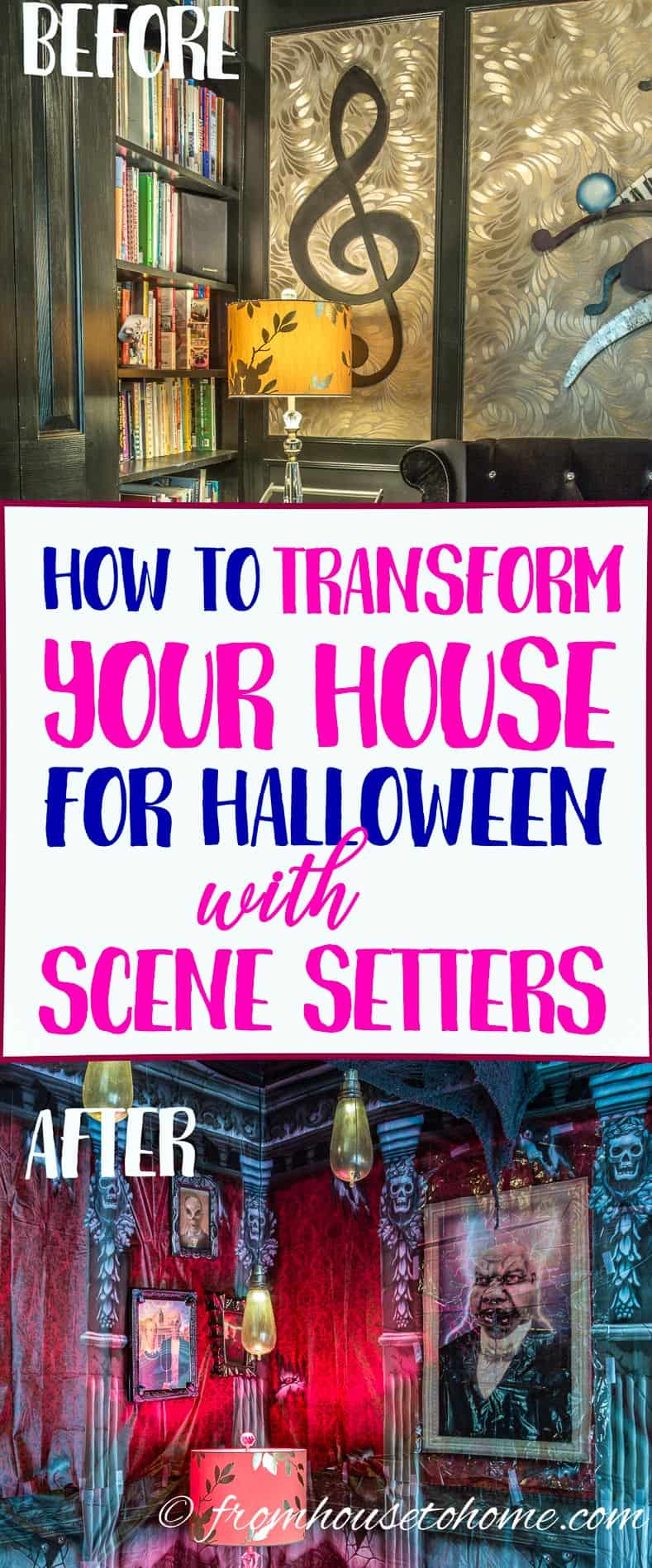 How To Transform Your House For Halloween With Scene Setters