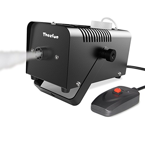 Fog machine with manual button