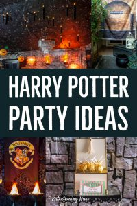 Harry Potter party decor ideas