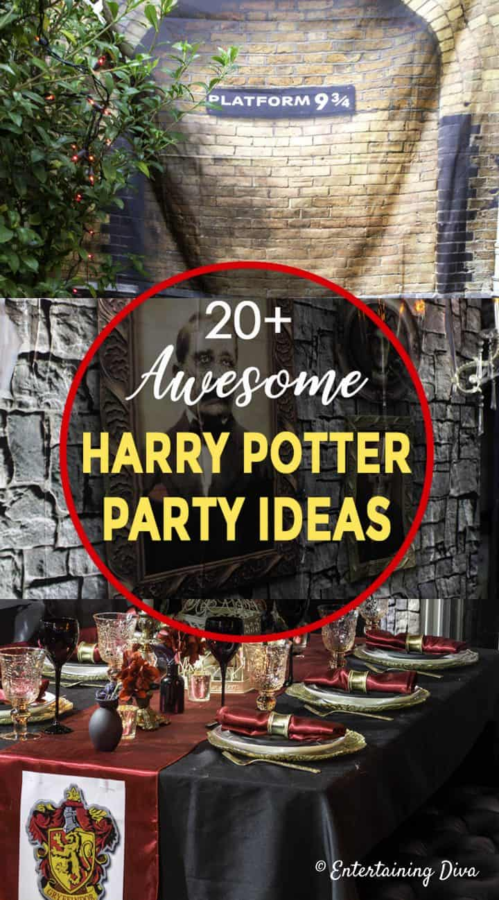 20+ awesome Harry Potter party ideas
