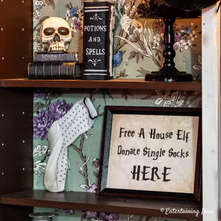 Free a house elf Harry Potter party printable sign