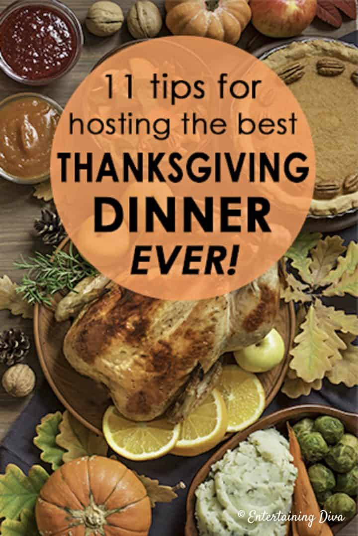 11 tips for hosting best Thanksgiving dinner ever