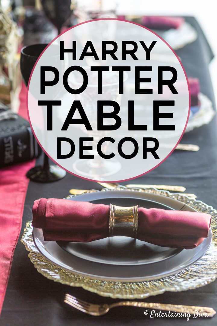 Harry Potter table decor ideas