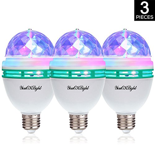 Disco ball light bulbs