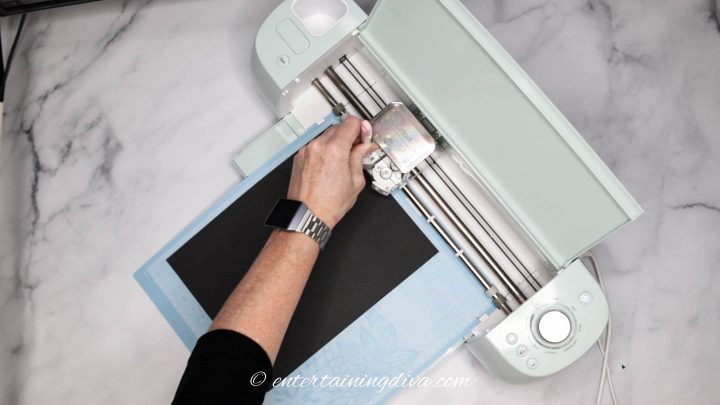 Installing the scoring stylus on the Cricut Explore Air 2