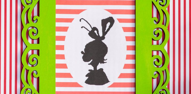 DIY Grinch printable silhouette pictures