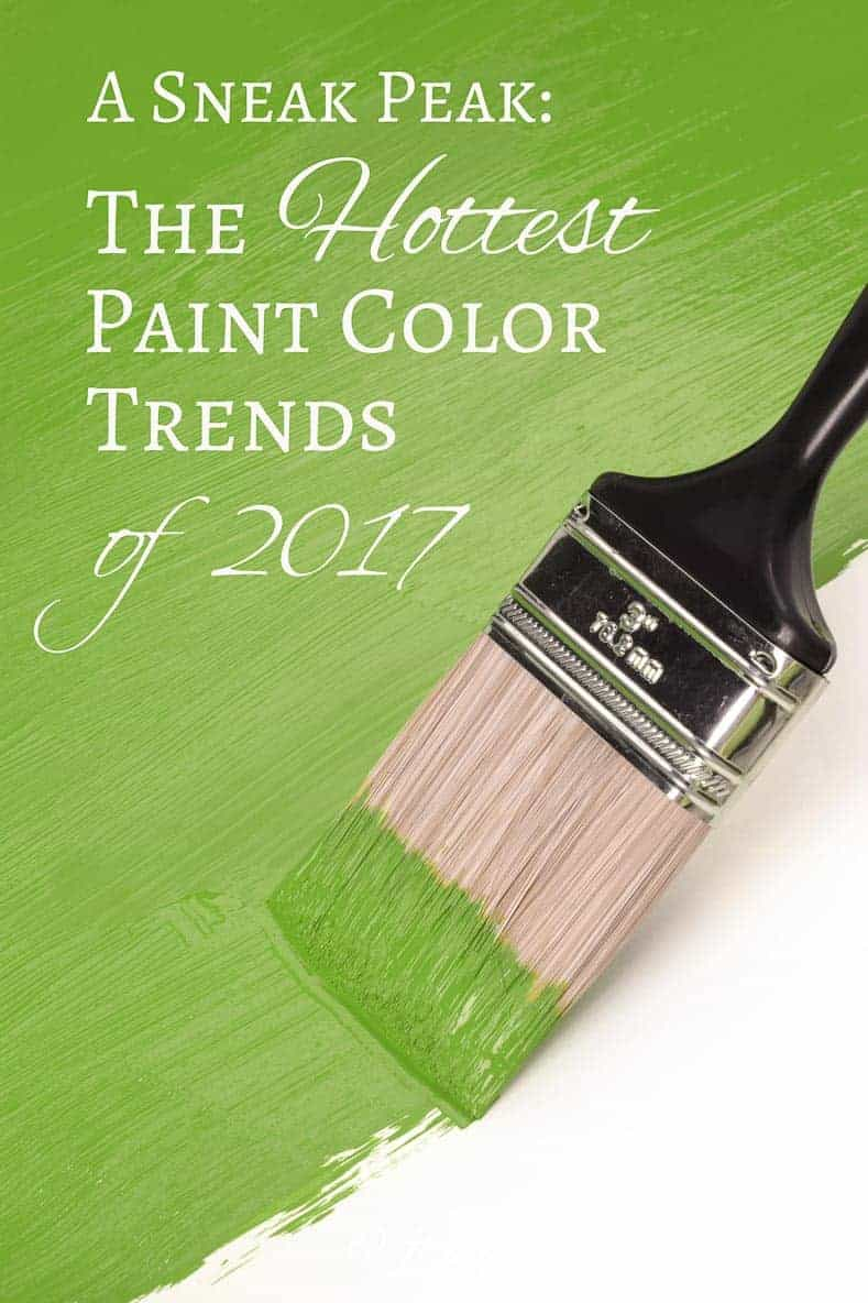 2017 Paint Color Trends