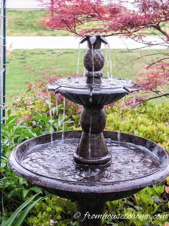 Multi-tier water fountain