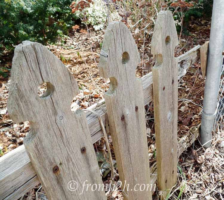 Make note of repairs, like picket fence boards that need to be replaced | How To Get Your Garden Ready For Spring