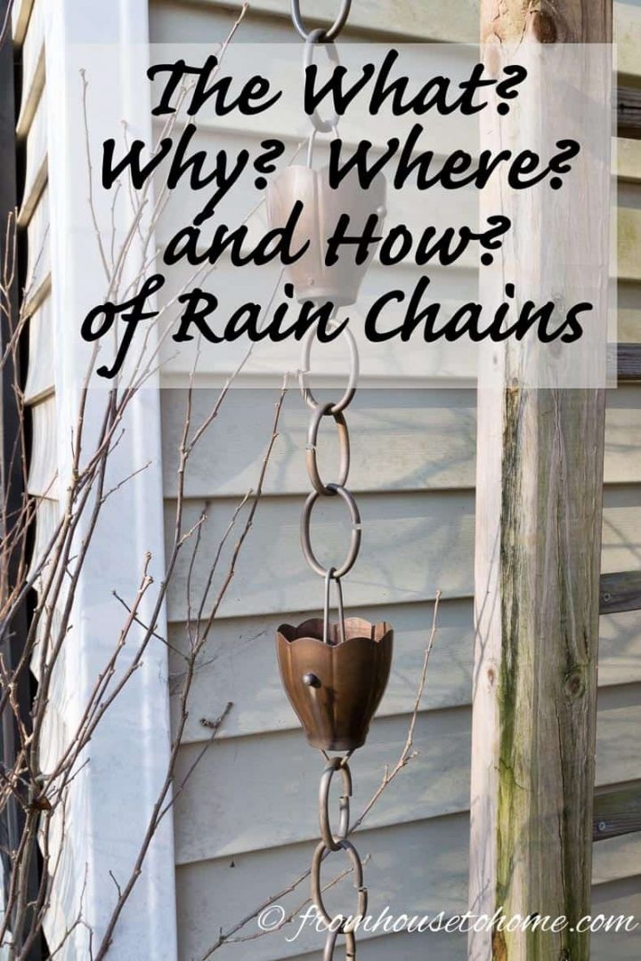 The What? Why? Where? And How? of Rain Chains