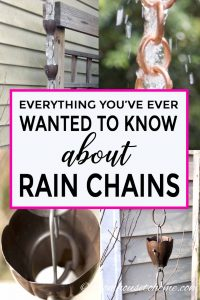 Everything you ever wanted to know about rain chains