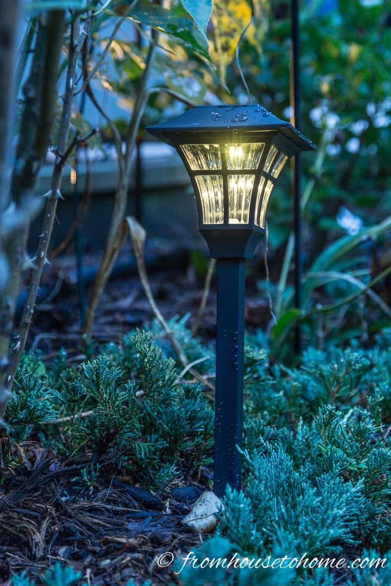 Solar lighting is easy to install | How To Design And Install Landscape Lighting