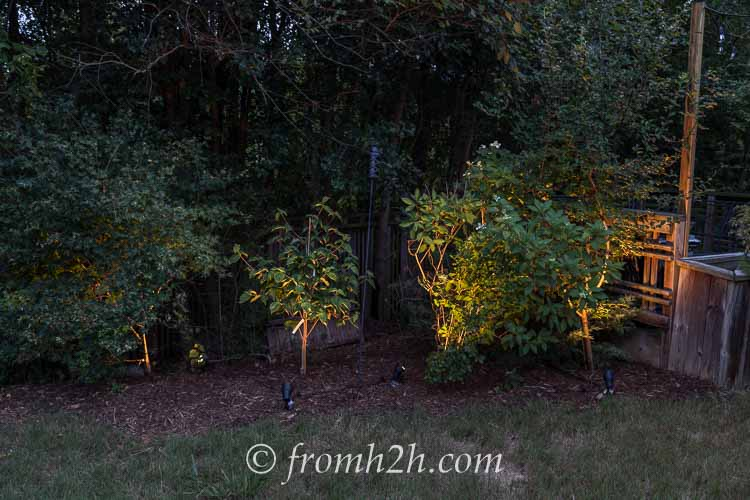 Fill in gaps with some lighting | How To Design And Install Landscape Lighting