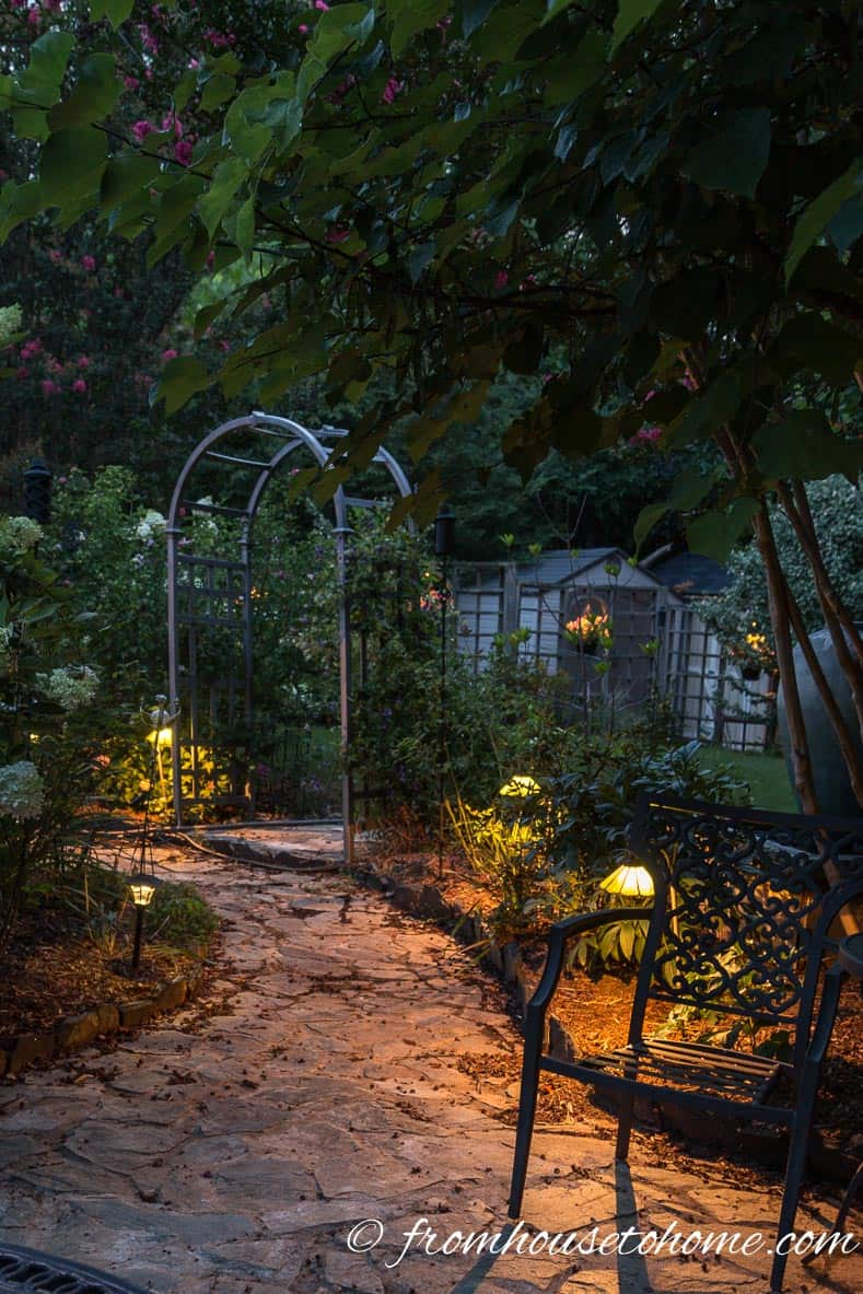Path lighting is required so that people can see where they are going | How To Design And Install Landscape Lighting