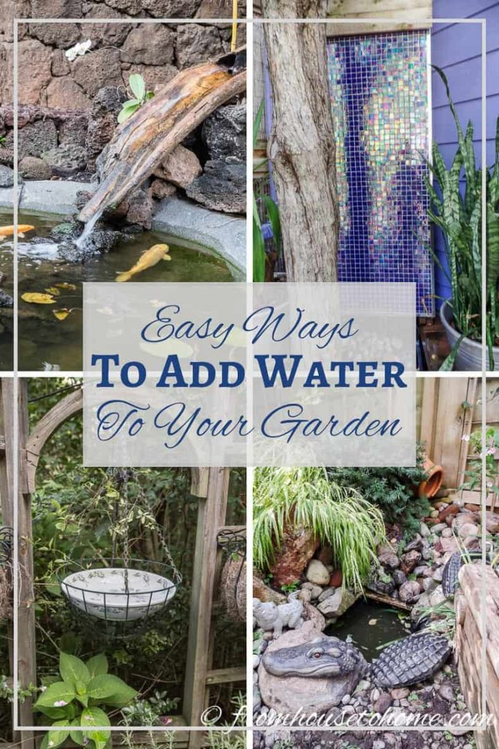 Water feature ideas for your garden