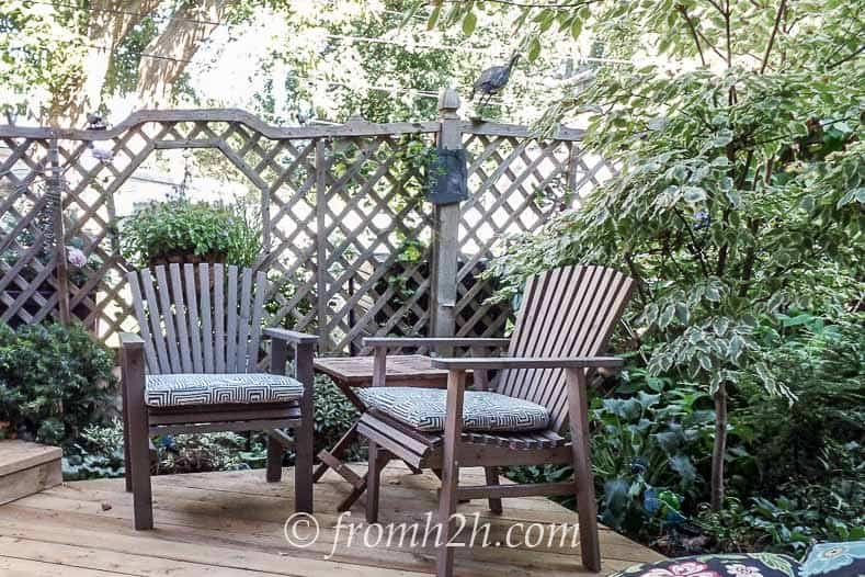 Surround the deck with plants | How To Create a Relaxing Deck