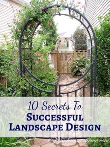 10 Secrets to Successful Landscape Design