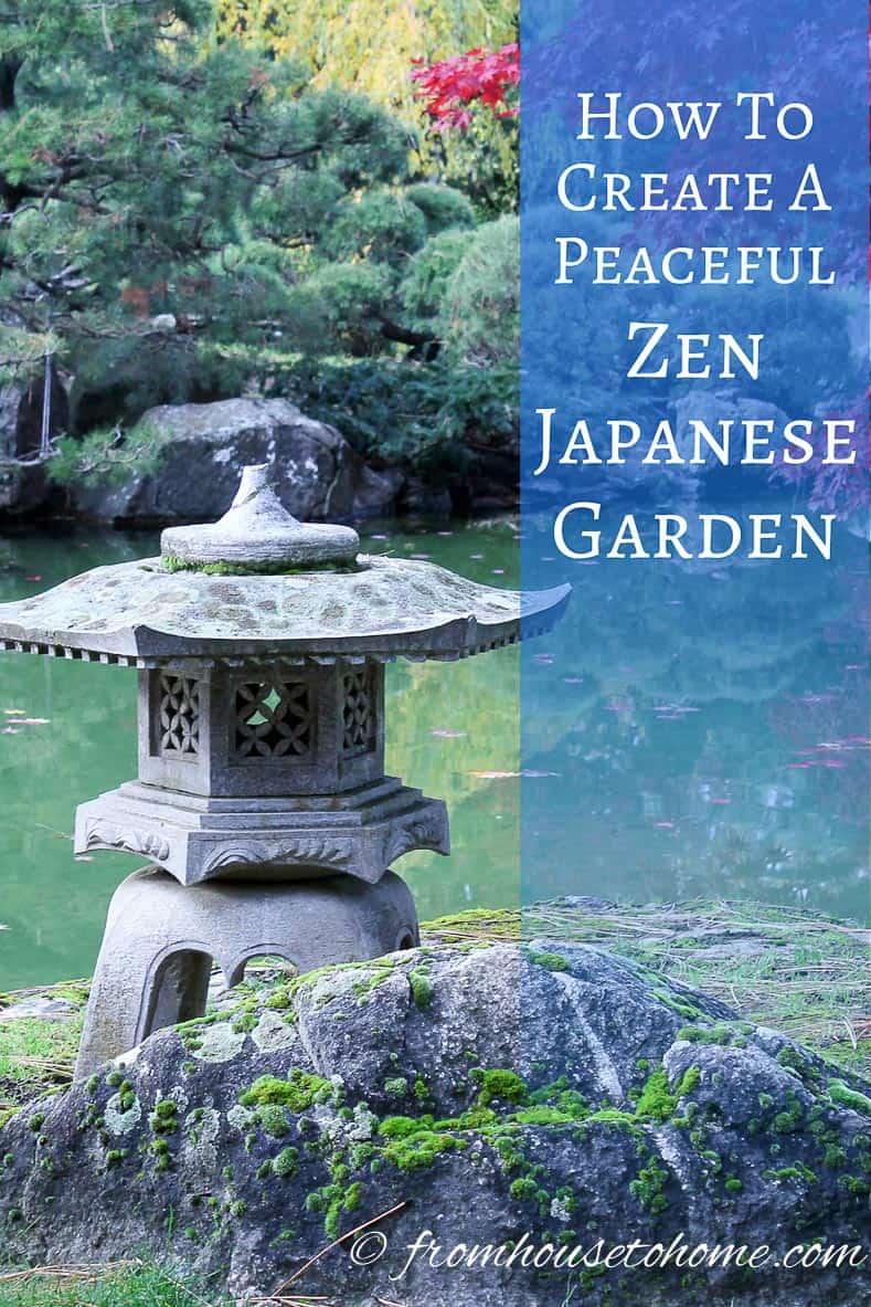 How To Create A Peaceful Zen Japanese Garden