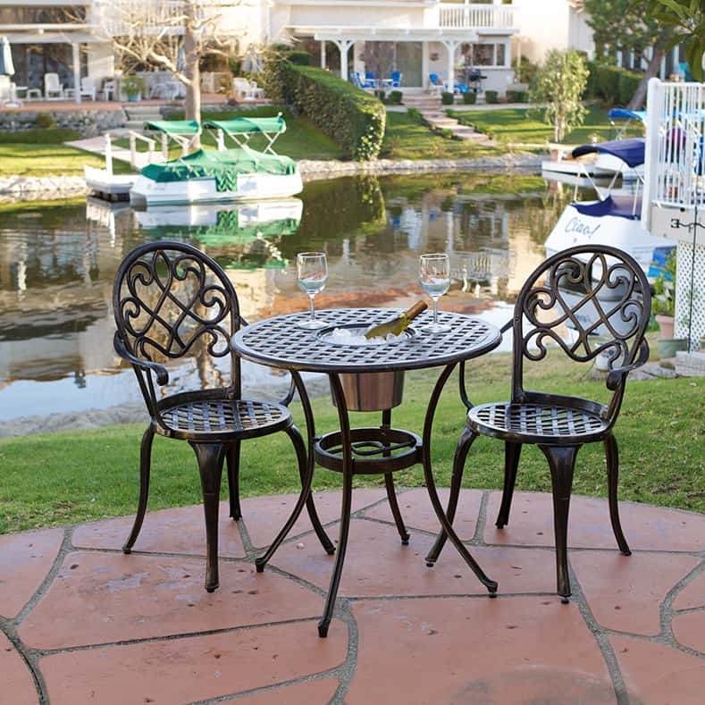 Get dual purpose furniture for small patios