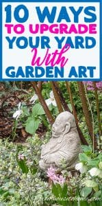 10 ways to upgrade your yard with garden art