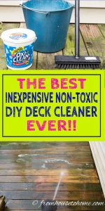 Non Toxic Deck Cleaner